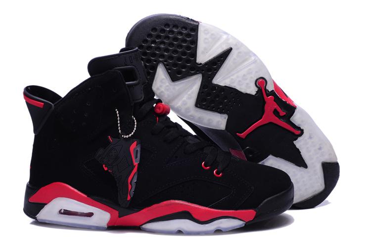 8cb0c8d63f84 Air Jordan 6 Homme Femme Jordan Haute Qualite Chaussure Air Jordan 5 Retro  Pas Cher Noir Rouge Pour Homme