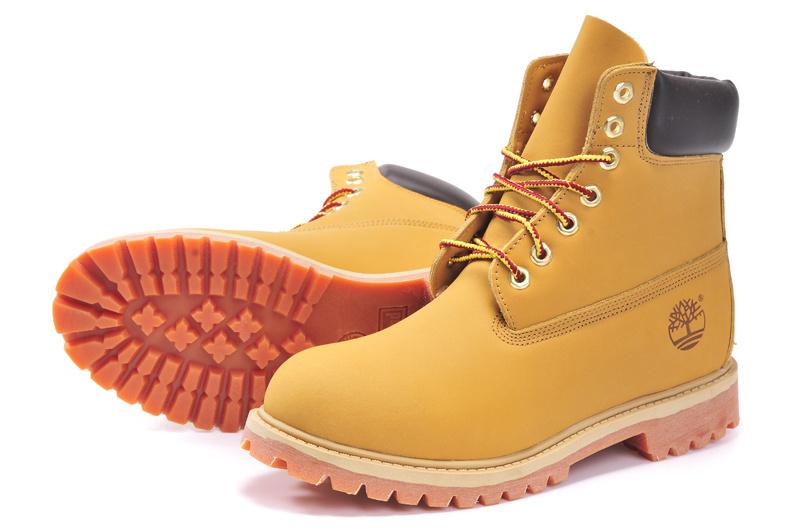 botte timberland homme jaune