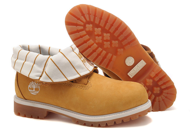 Timberland Roll top Femme vendre Timberland Pad damier blanc Bottes de travail collier