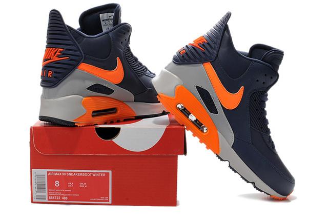 Nike Air Max 90 High Homme Chaussures Air Max personnalisées pas