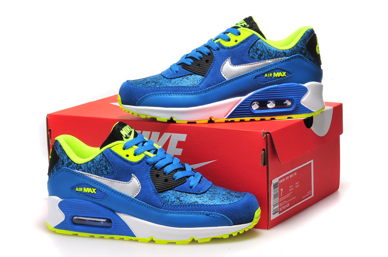Nike Air Max 90 2015 Femme Véritable 90 Homme Paris Saint Germain bleu rouge .